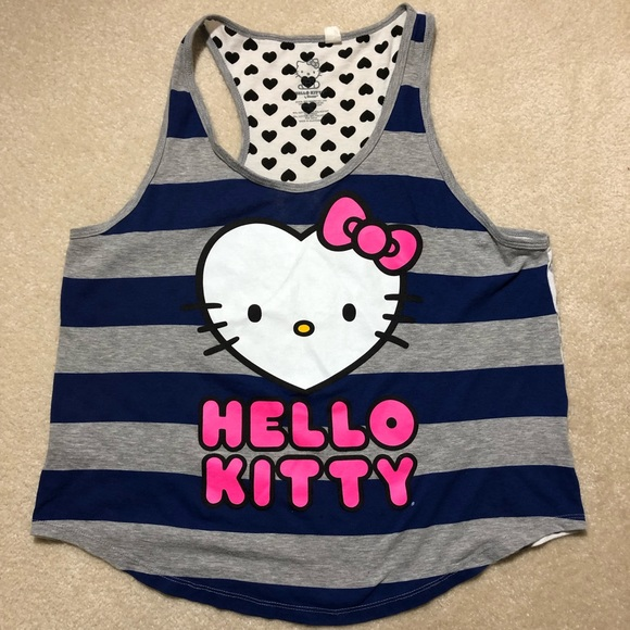 b4cadcad2 Hello Kitty Tops - Hello Kitty Hot Pink Letters & Bow Women's Top XL